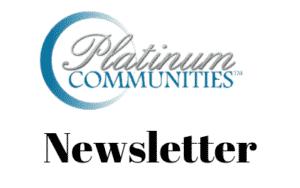 platinum communities newsletter sign up